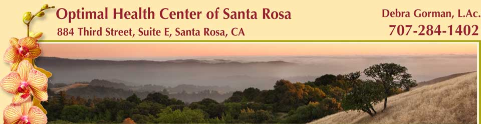 Debra Gorman Acupuncture – Optimal Health Center of Santa Rosa